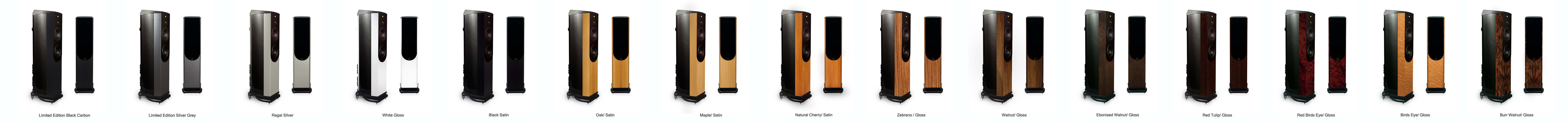 Wilson Benesch Loudspeaker Finishes