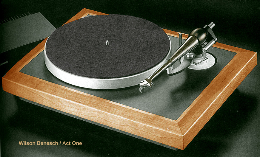 Wilson Benesch - Turntable - A.C.T.One Tonearm - Strong Carbon Fibre - British Innovation - Engineering - Legacy - 2013 - Analogue Collection