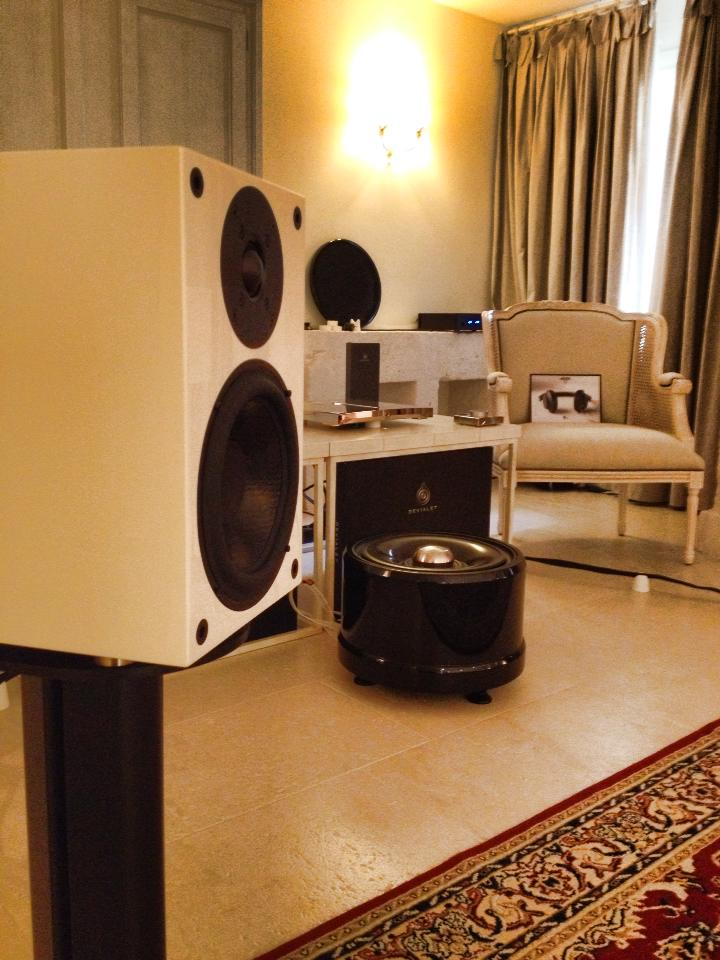 Wilson Benesch Square One with the Devialet 170 at the Bari High End 2014