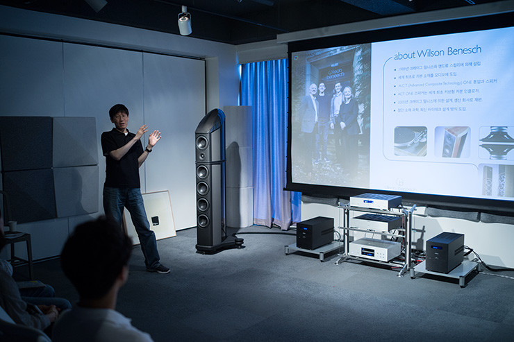Wilson Benesch - Cardinal Loudspeaker - Geometry Series - Tinman - Magazine - South Korea - Review - 2014