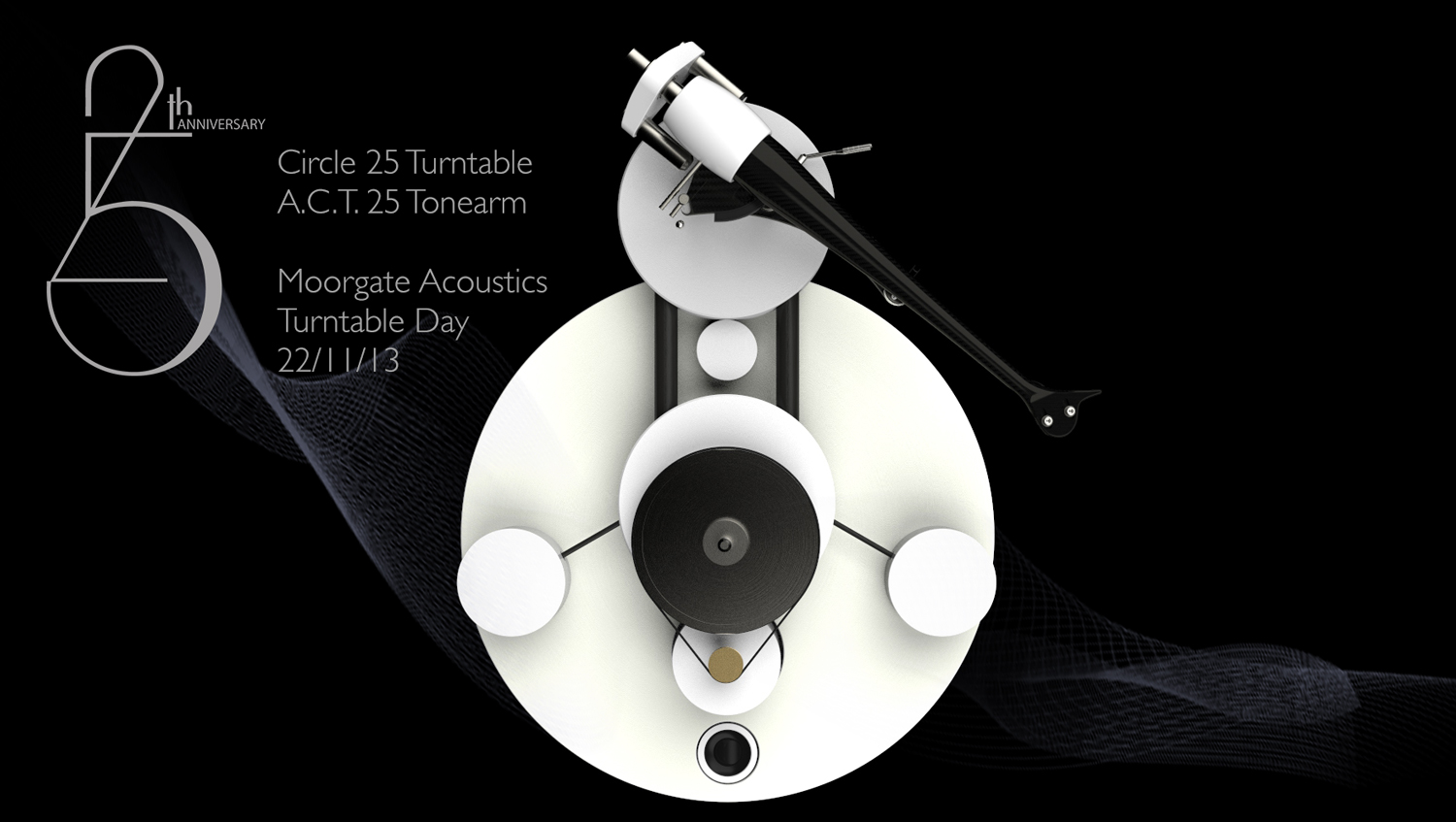 Wilson Benesch - Circle 25 Anniversary Turntable - Analogue Collection - Moorgate Acoustics - Turntable Day - Sheffield