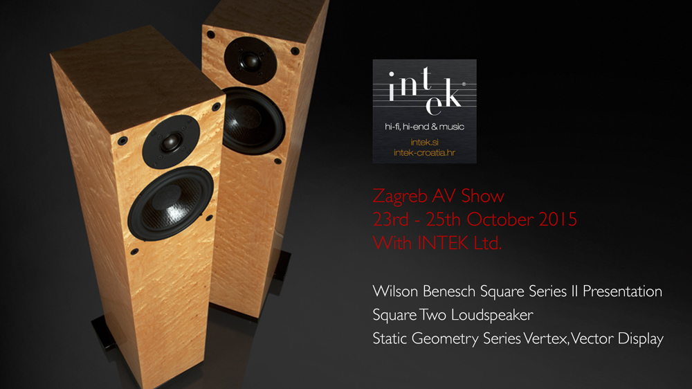 Wilson Benesch - Square Two - Square Series II - Loudspeaker - Vertex - Vector - INTEK Ltd. - Slovenia - Croatia - Carbon Fibre - British - High - End - Audio - Geometry Series