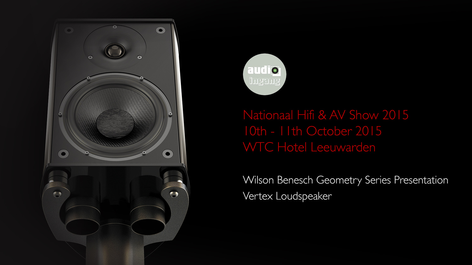 Wilson Benesch - Vertex - Loudspeaker - carbon fibre - British - High - End - Audio