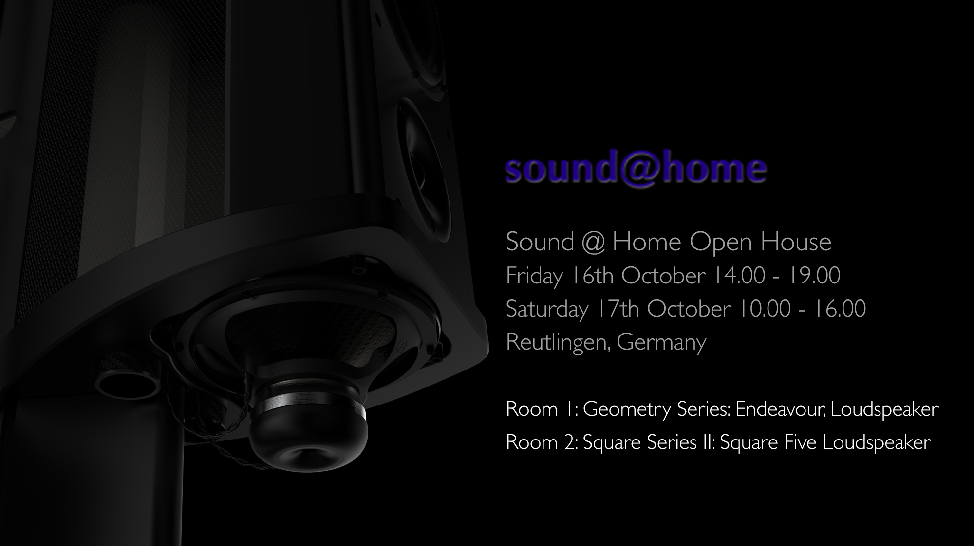 Wilson Benesch - Endeavour - Loudspeaker - Square Five - Sound @ Home - Carbon Fibre - British - High - End - Audio - Geometry Series - Reference Line