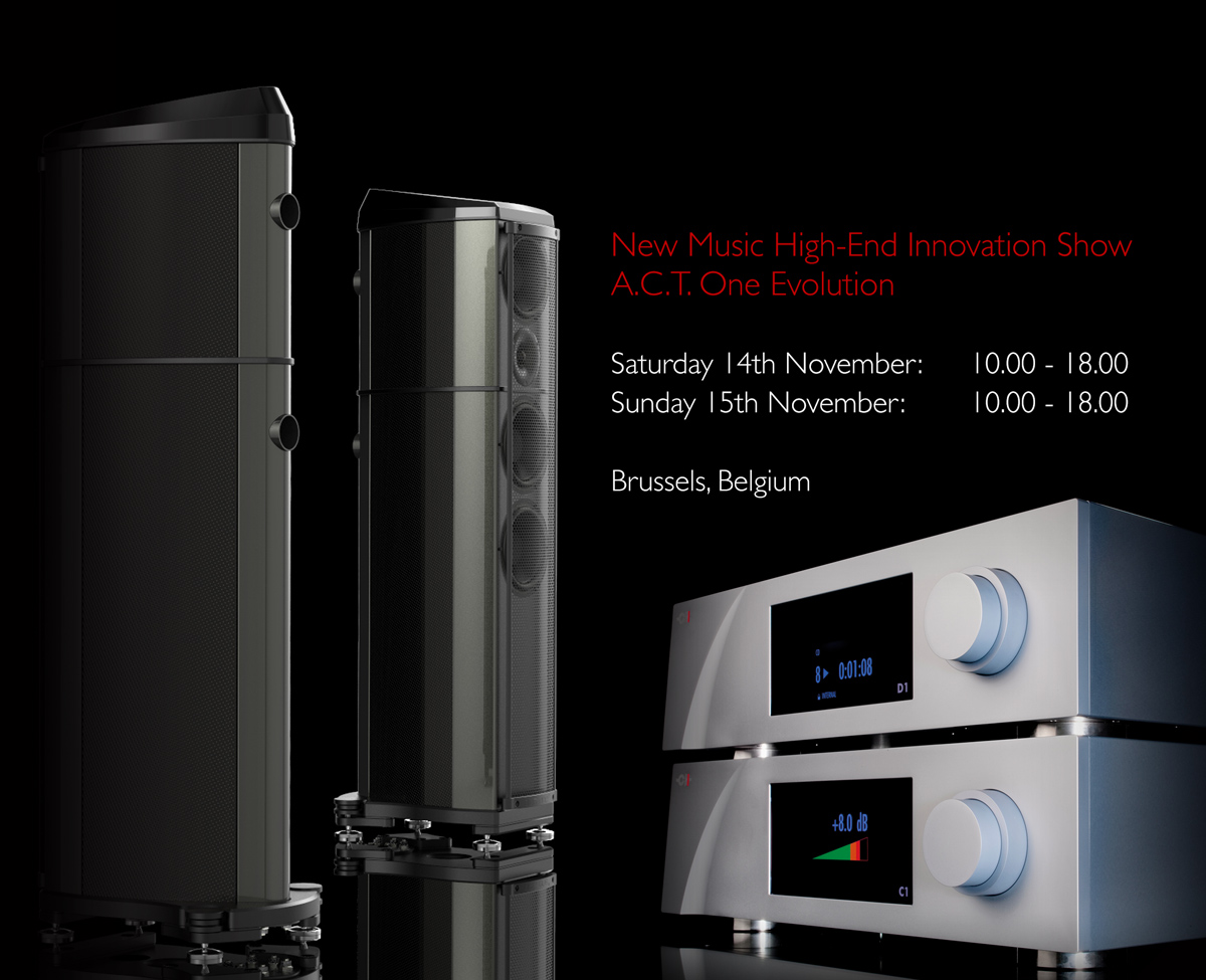 Wilson Benesch - A.C.T. One Evolution - Loudspeaker - Official - Launch - Germany - Die Steiner Box - Carbon Fibre - British - High - End - Audio - Geometry Series - Reference Line