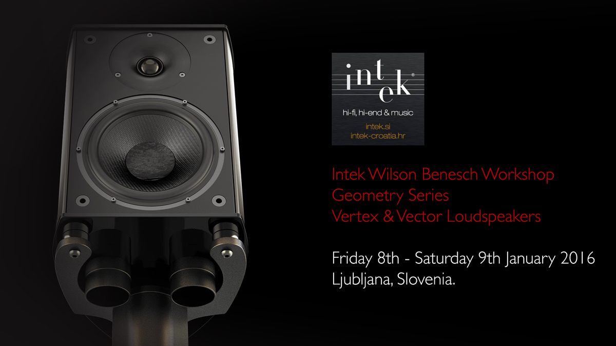 Wilson Benesch - Vertex - Vector - Loudspeaker - Carbon Fibre - High-End - Audio - INTEK Ltd. - Slovenia - Croatia - British - Geometry Series