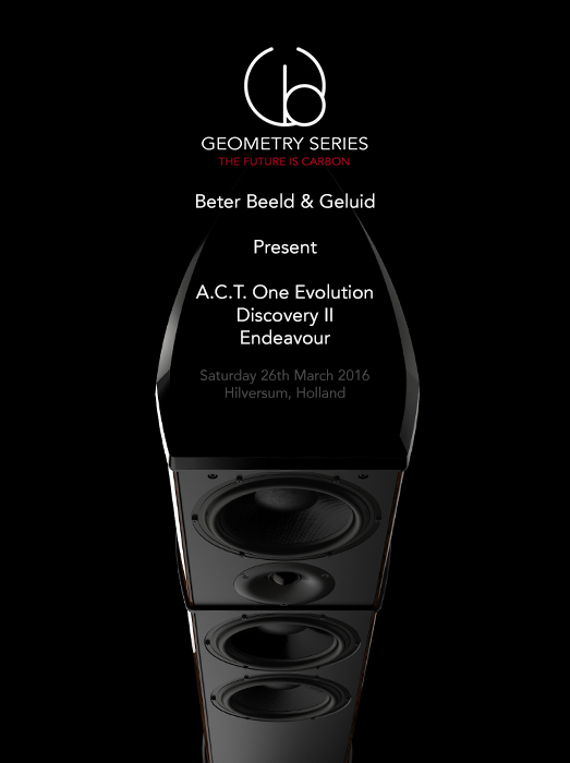 Endeavour - A.C.T. One Evolution - Discovery II - Loudspeaker - Carbon Fibre - British - Engineering - Innovation - HIFI