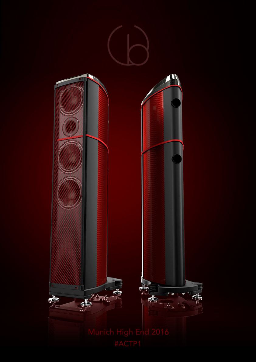 Wilson Benesch - A.C.T. P1 - Geometry Series - Carbon Fibre Loudspeaker - Munich High End 2016 - Luxury - High End Audio - British Innovation