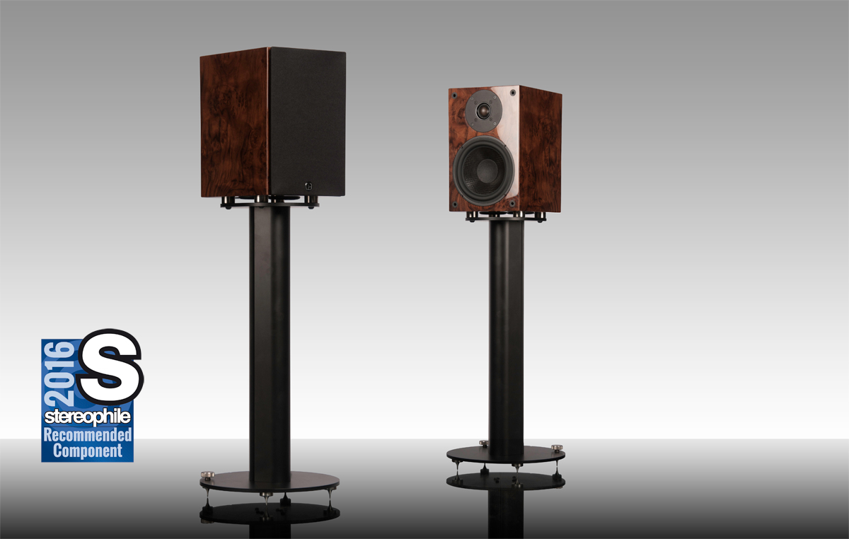 Square One - Square Series II - Stereophile - Recommended Component - 2016 - HiFi - Audio - British - Loudspeaker - Standmount - bookshelf