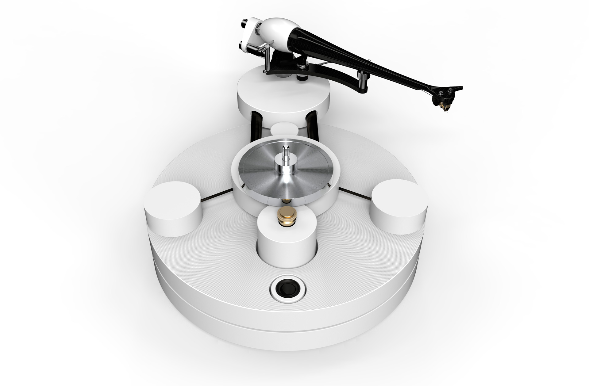 Fidelity Magazine - Circle 25 Turntable - White Edition - Review - Lifestyle - Bespoke - British - Analogue - Carbon Fibre