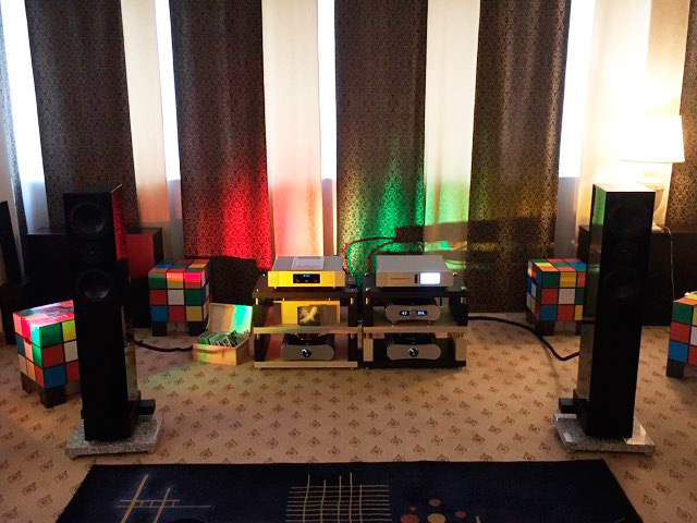 Square Series 2 Square Five Loudspeaker Rome High End Audio Show
