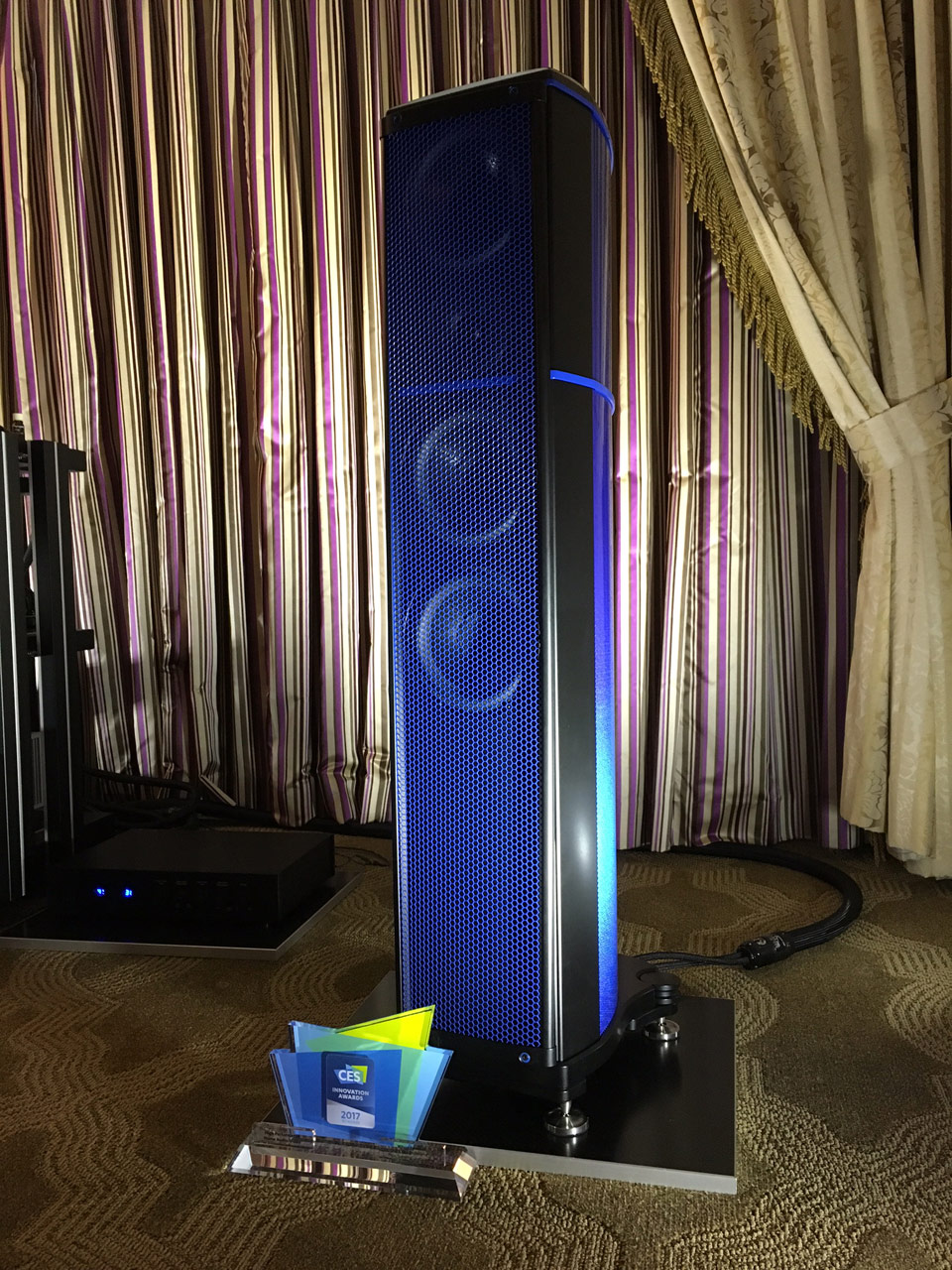 Wilson Benesch - A.C.T. One Evolution P1 - Ettore Blue - Hypetex - Coloured Carbon Fibre - Innovation Award