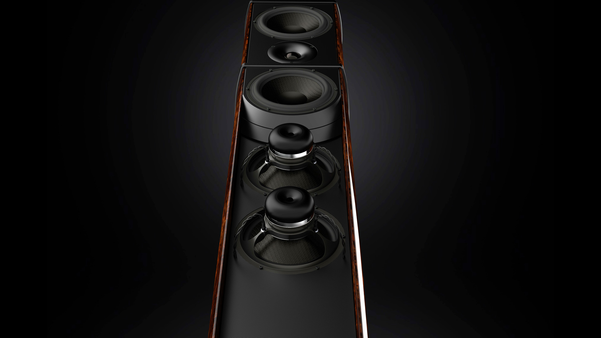 Geometry Series Resolution Loudspeaker Launch Munich HIGH END 2017 Burr Walnut Gloss