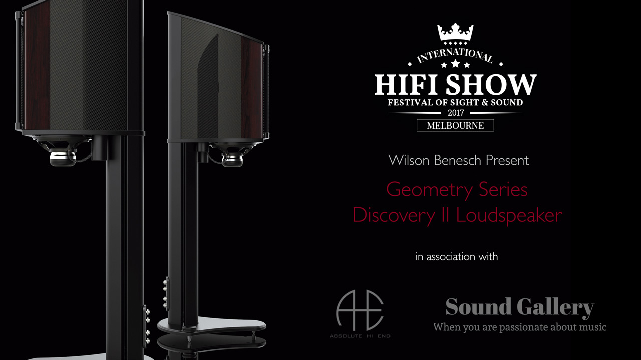 Geometry Series Discovery II Carbon Fibre Loudspeaker Melbourne International HIFI Show 2017