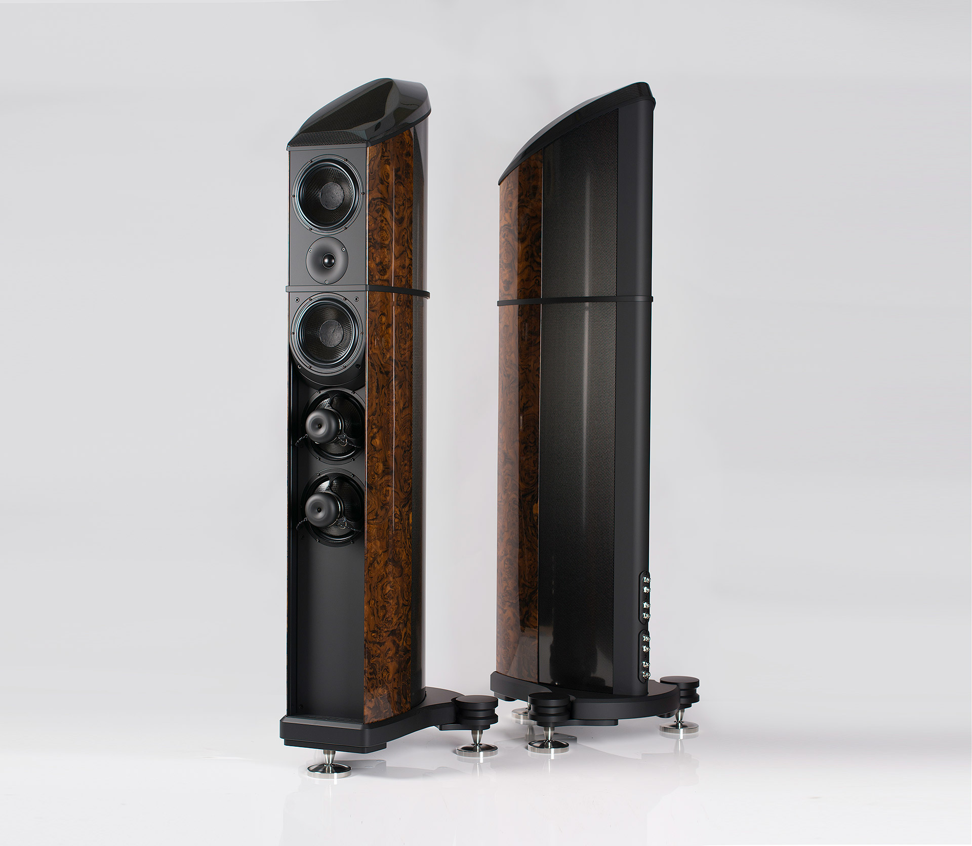 Roy Gregory - Audiobeat -Resolution - Floorstanding - Loudspeaker - Review - Carbon Fibre - Hifi - High End - British - Sound