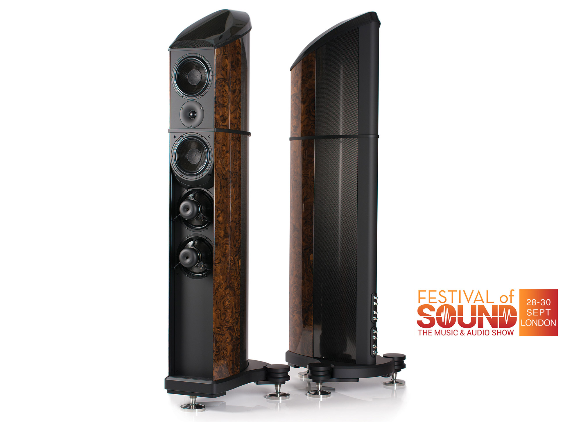 Wilson Benesch will demonstrate the award winning Resolution loudspeaker at the 'Festival of Sound' in Hammersmith, London this September