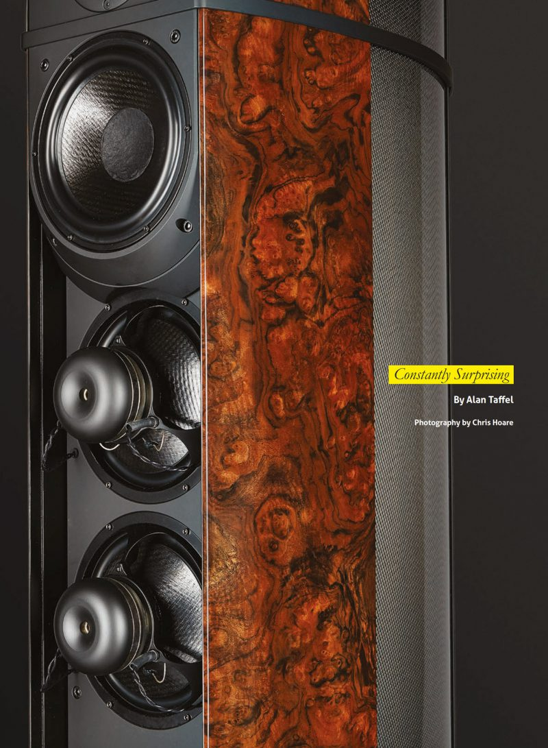 Wilson Benesch High End Audio Loudspeaker British Music Carbon Fibre Engineering Design Absolute Sounds